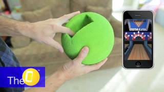 Bowling with TheO Android, iPhone Smartphone Gaming Gets Physical like Wii