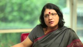 Dr. Nandita Mishra, sharing her views on the importance of economics in Business Management