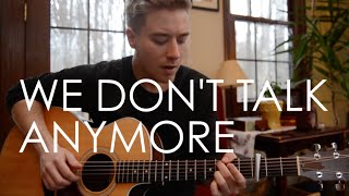 We Don't Talk Anymore by Charlie Puth and Selena Gomez | cover by Jonah Baker