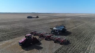 Brown Family Farms Seeding 2017 | DJI Phantom 4 Pro
