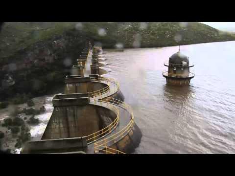 St Francis Bay. Kromme River Dam overflowing. July 2012.  Linda Collison. HD