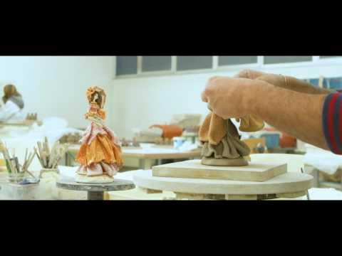 Zampiva clay figurines. Ceramic collectible's figurines by Zampiva