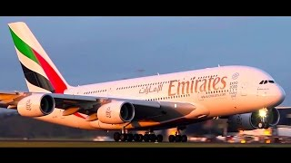Plane Spotting ● Emirates & Etihad A380s Landing, CLOSE-UP Spool & Takeoff - Melbourne Airport