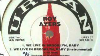 ROY AYERS - We Live In Brooklyn, Baby (instrumental)