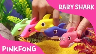 Clay Baby Sharks | Pinkfong Clay | Animal Songs | Pinkfong Songs for Children