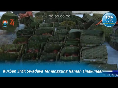 Kurban SMK Swadaya Temanggung ramah lingkungan