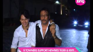 Jackie Shroff hosts the screening 'Heropanti'
