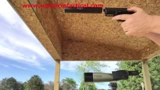 What a Firearm Gun Silencer or suppressor really sounds like. Gemtech GM-9
