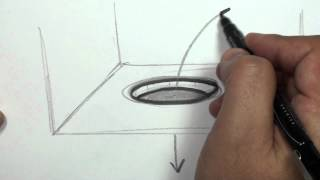 How to Draw a 3D Hole - Draw a Hole in Paper | MAT