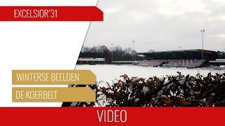 Screenshot van video Winterse beelden vanaf De Koerbelt | Februari 2021