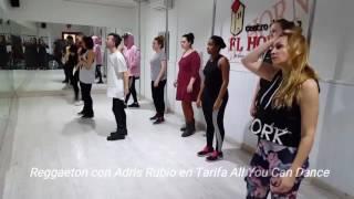 Clases de Reggaeton en la Tarifa All You Can Dance con Adris Rubio
