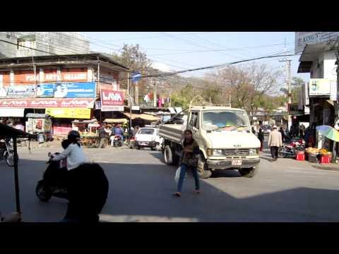 Pokhara Nepal Market & Street Scene