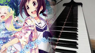 Hanayamata OP | ハナヤマタOP | 「花ハ踊レヤいろはにほ」 Piano