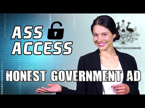 Anti Encryption Law | Honest Government Ad