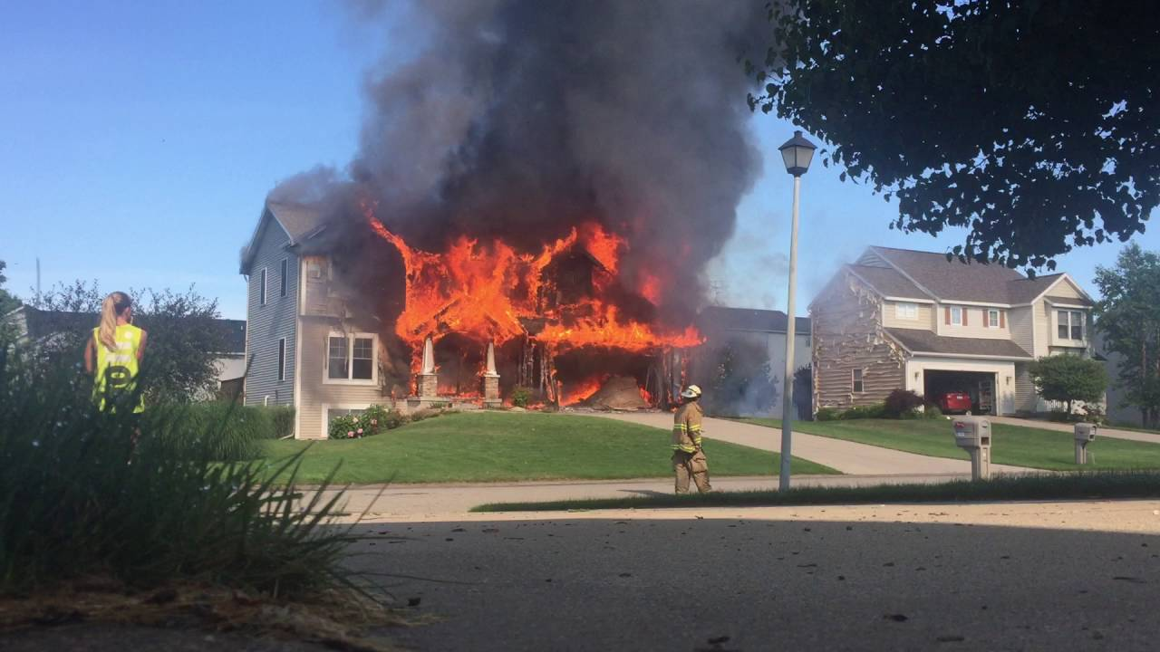 House fire 23 July, 2016