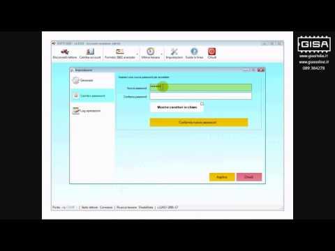 SOFTCARD - Cambiare la password di accesso al programma