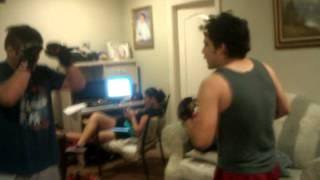 Chunky vs gayael MMA style