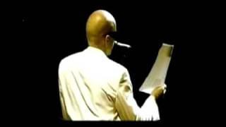 Pedro Abrunhosa - Leitura de Poemas