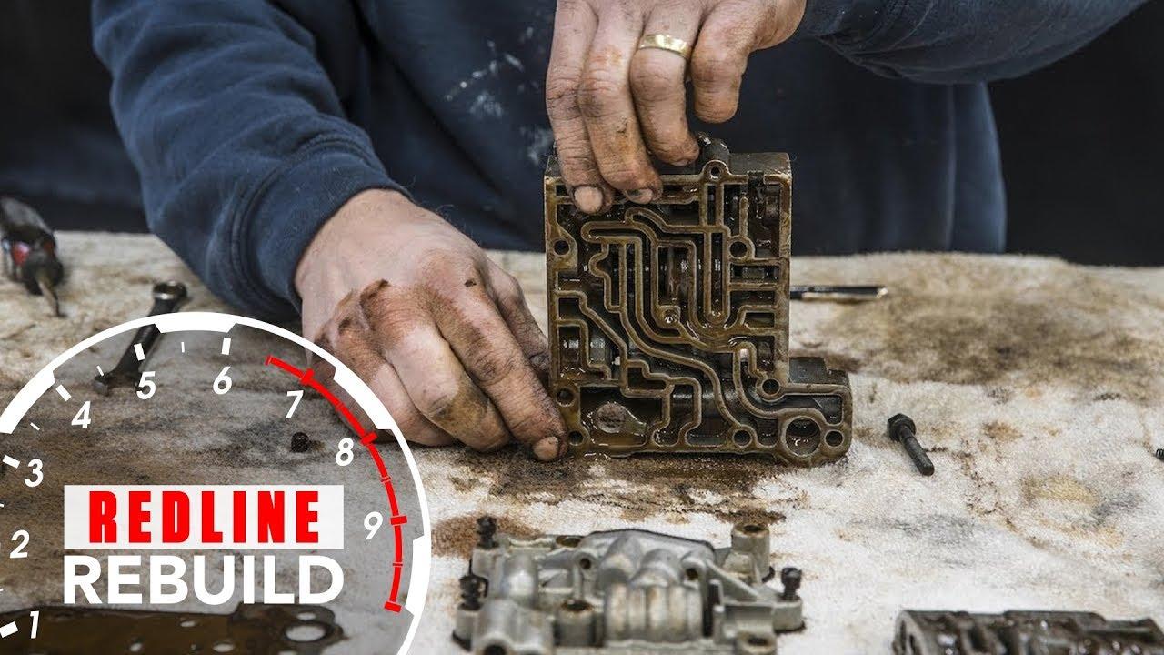 Ford Thunderbird Automatic Transmission Rebuild Time Lapse