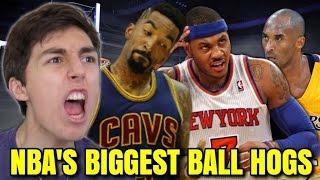 NBA'S BIGGEST BALL HOGS