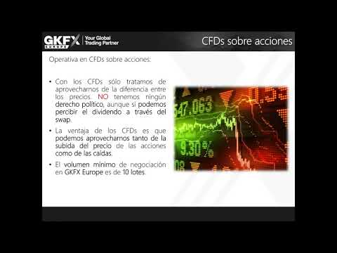 Swing trading con CFDs sobre acciones