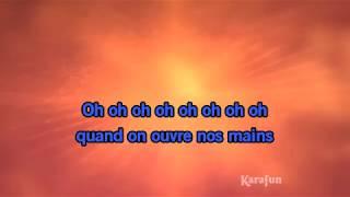 Karaoké Nos mains - Jean-Jacques Goldman *