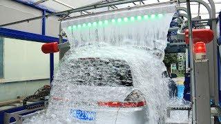 AUTOMATIC CAR WASH TUNNEL MACHINE WITH LAVAFALL MADE BY SHUIFU CHINA