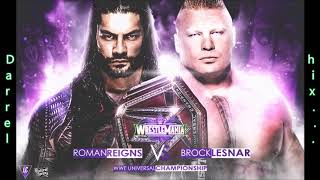 "Brock Lesnar vs. Roman Reigns WWE Wrestlemania 34 Promo Theme Song - ""Devil"" WITH DOWNLOAD LINK"