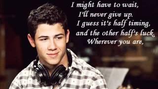 Nick Jonas - Haven't met you yet (cover) + lyrics