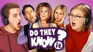 DO TEENS KNOW 90s TV SHOWS? (REACT: Do They Know It?)