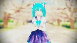 [MMD] 하츠네 미쿠로 트와이스 - Likey twice likey Hatsune Miku