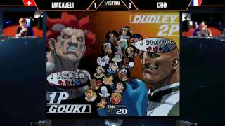 top 16 20170506 hado sf3.3 tournament Makaveli (go) vs CrHk (du)