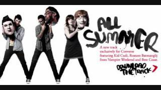 All Summer - Kid Cudi, Vampire Weekend and Best Coast (Download Link)