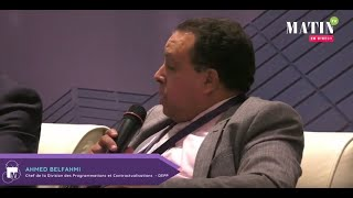 Matinale Groupe Le Matin : intervention de Ahmed Belfahmi