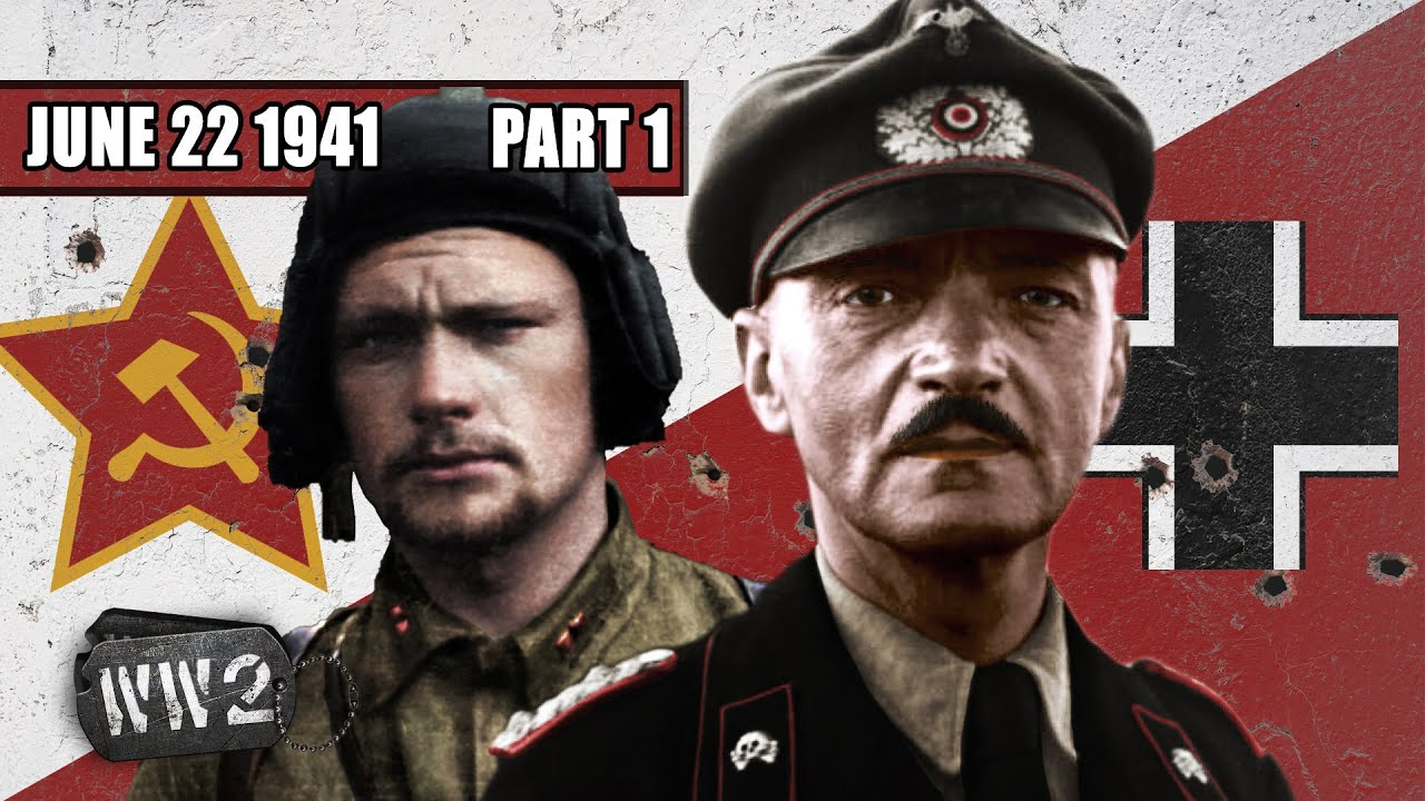 Operation Barbarossa - Biggest Land Invasion in History - WW2