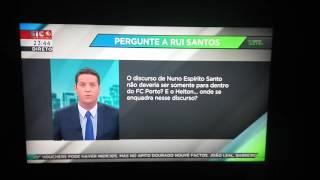 """""""Tempo extra"""" da Sic Notícias - 25/10/2016"""