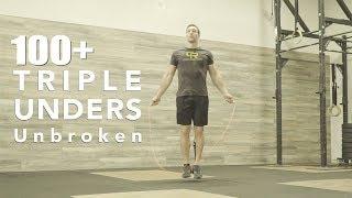 100+ Triple Unders (Unbroken) | Tabata Songs | Crossrope