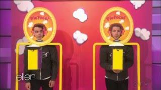 Nick Jonas with Joe Jonas - part #4 (game) - Ellen degeneres show 2016