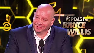 Jeff Ross Charts Bruce's Career Path - Roast of Bruce Willis - Uncensored