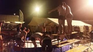 FAIL! Drunk Idiots Wanna Jump Into Beer Pool! 1080p HD!