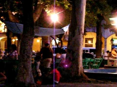 granada restaurant @ night in Parque Central
