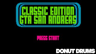 GTA San Andreas | Theme Song [8-Bit Cover] DonutDrums