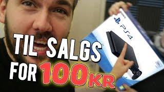 Vi selger Playstation 4 for 100kr!
