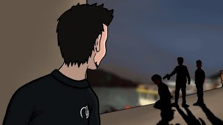 I Witnessed A Murder In A Foreign Country (Animated Horror Story)