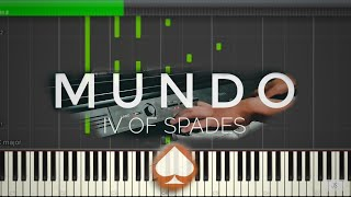 Mundo - IV Of Spades | Piano Tutorial