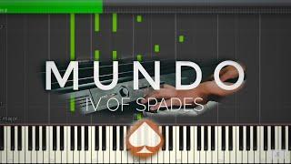 Mundo - IV Of Spades | Piano Tutorial