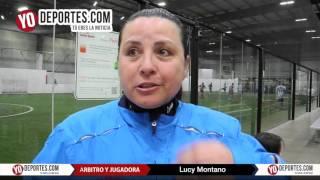 Arbitro Lucy Montano ayuda a un equipo a ganar Liga Latinoamericana Chicago