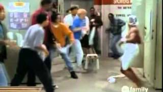 Steve Urkel Towel Fight Scene