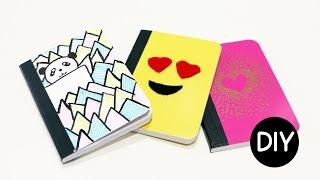 DIY Mini Notebook Cover Ideas