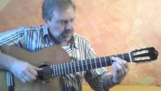 """Gerhard Gschossmann - """"Take the A-train""""  (Duke Ellington) - guitar solo fingerstyle"""